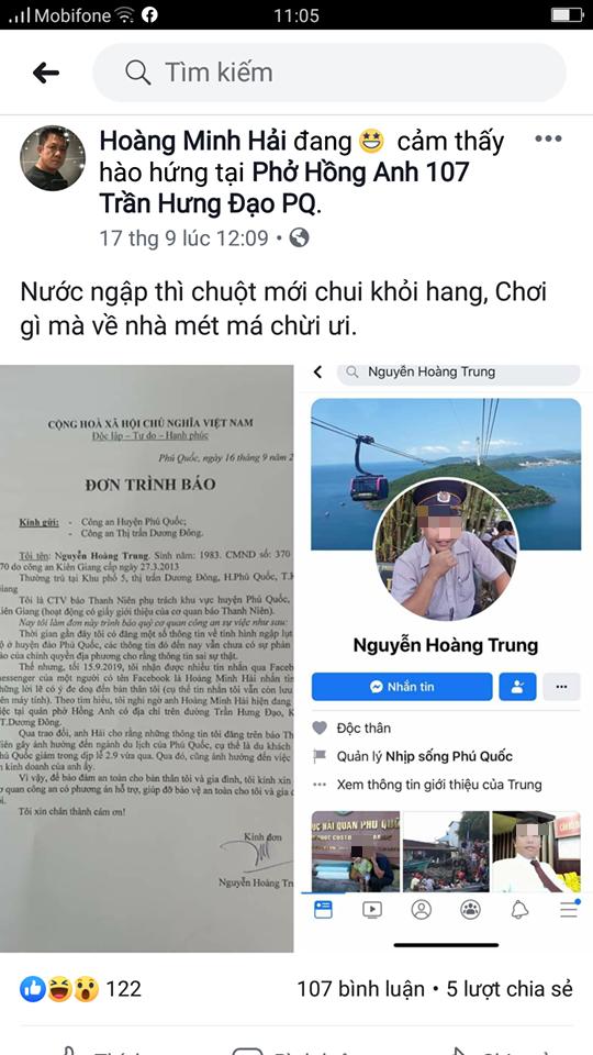 Chủ quán phở ở Phú Quốc liên tục đe dọa, xúc phạm những người làm báo - Ảnh 2.