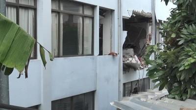 Công an tỉnh Bình Dương thông tin về vụ nổ ở Cục Thuế - Ảnh 4.