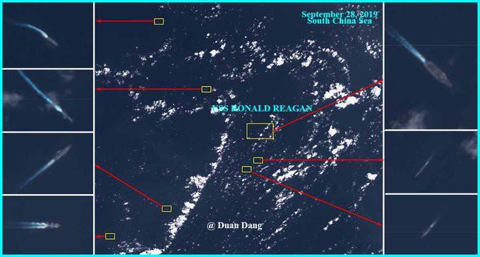 Mỹ điều tàu sân bay tới biển Đông - Ảnh 2.