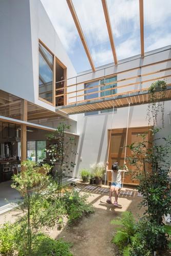 Độc đáo ngôi nhà thiết kế lạ, xóa ranh giới giữa nội thất và ngoại thất - Ảnh 3.