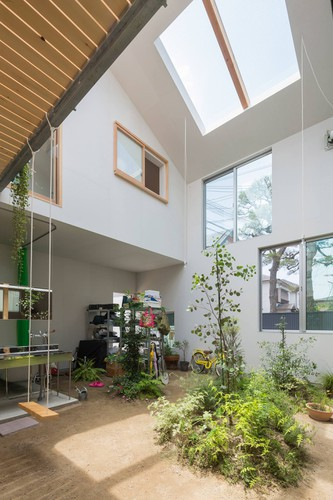 Độc đáo ngôi nhà thiết kế lạ, xóa ranh giới giữa nội thất và ngoại thất - Ảnh 5.