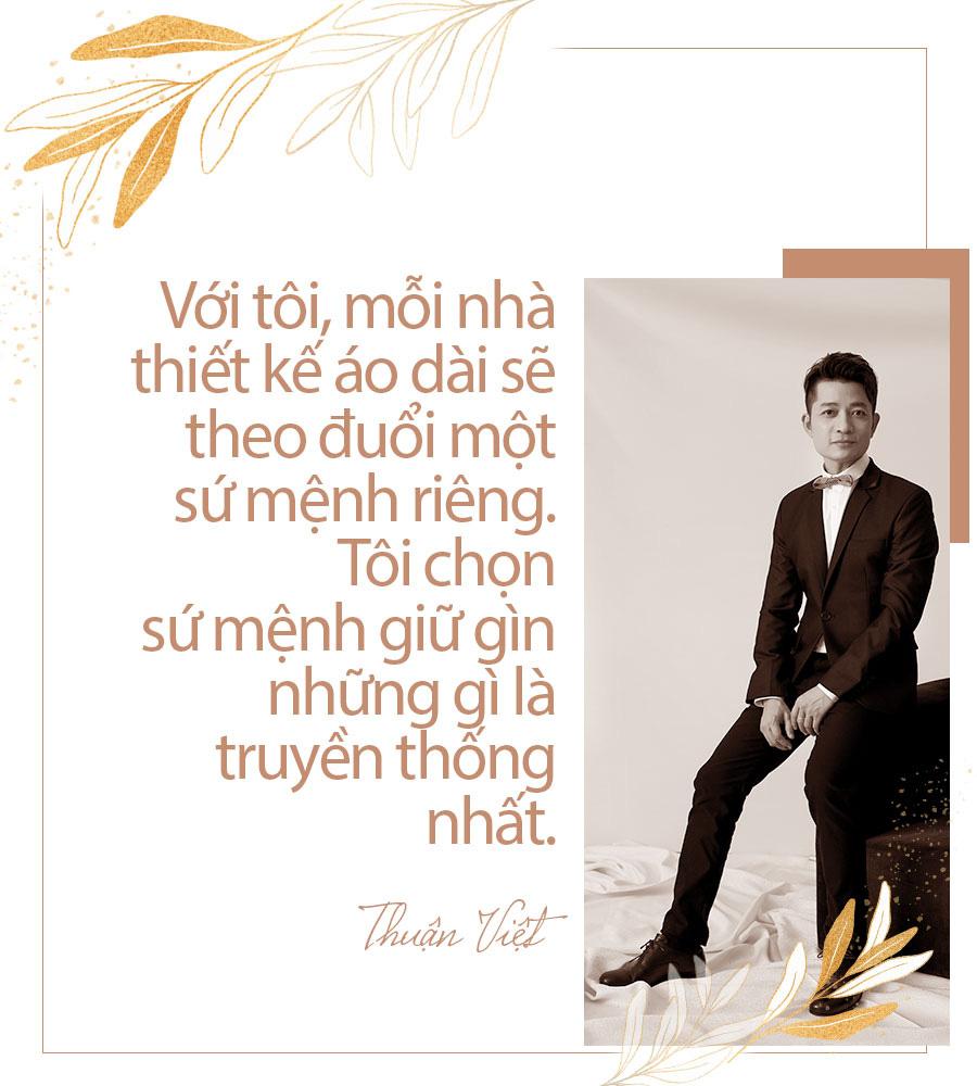 [eMagazine] - Thuận Việt: Người đàn ông giữ hồn áo dài Việt - Ảnh 3.