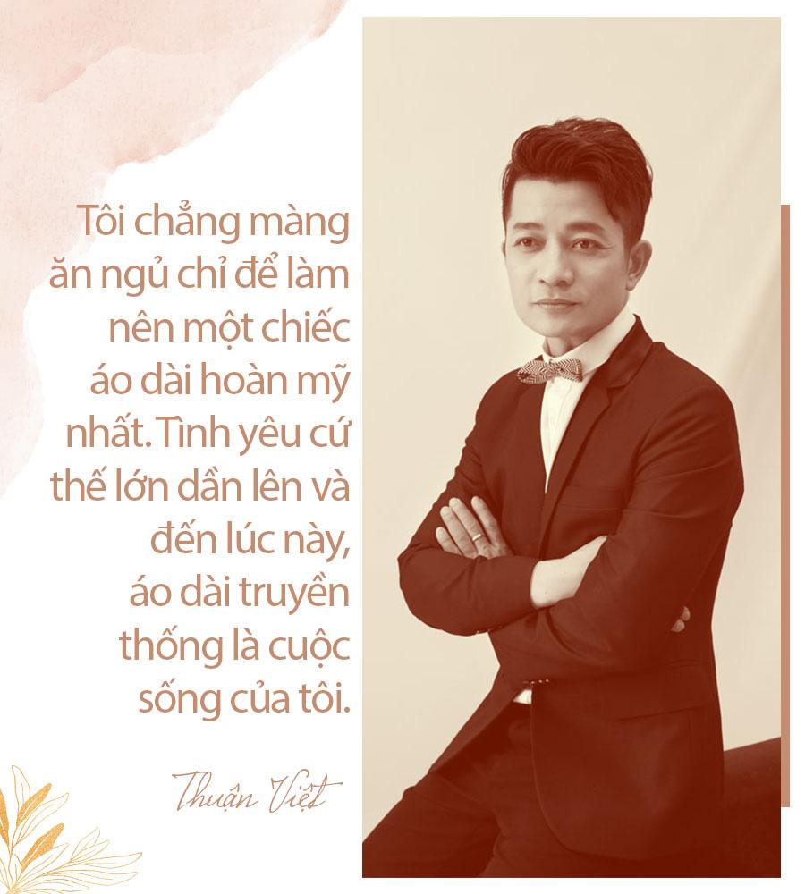 [eMagazine] - Thuận Việt: Người đàn ông giữ hồn áo dài Việt - Ảnh 7.