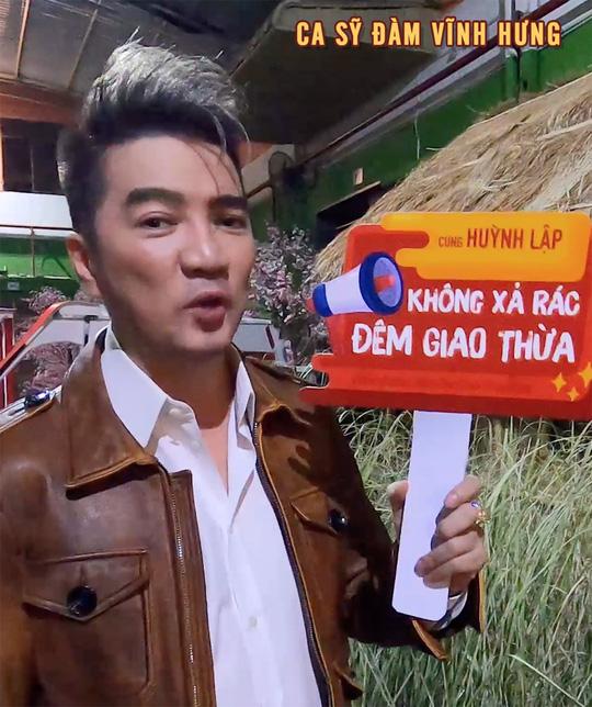 """Nghệ sĩ ủng hộ chiến dịch """"Không xả rác đêm giao thừa"""" của Huỳnh Lập - Ảnh 6."""