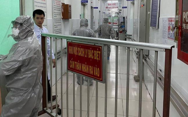 Khu vực điều trịcách lybệnh nhân người Trung Quốc nghi nhiễm virus corona