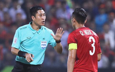 Lo danh sach trong tai bat tran U23 Viet Nam - UAE: Toan