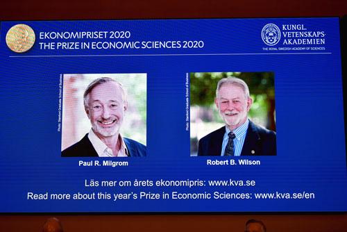 Nobel Kinh tế vinh danh công trình về đấu giá - Ảnh 1.