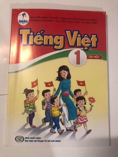 SGK Tiếng Việt 1: Sẽ điều chỉnh phù hợp hơn - Ảnh 1.