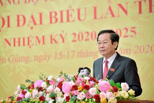 Kiên Giang có tân Bí thư Tỉnh ủy 53 tuổi - Ảnh 1.