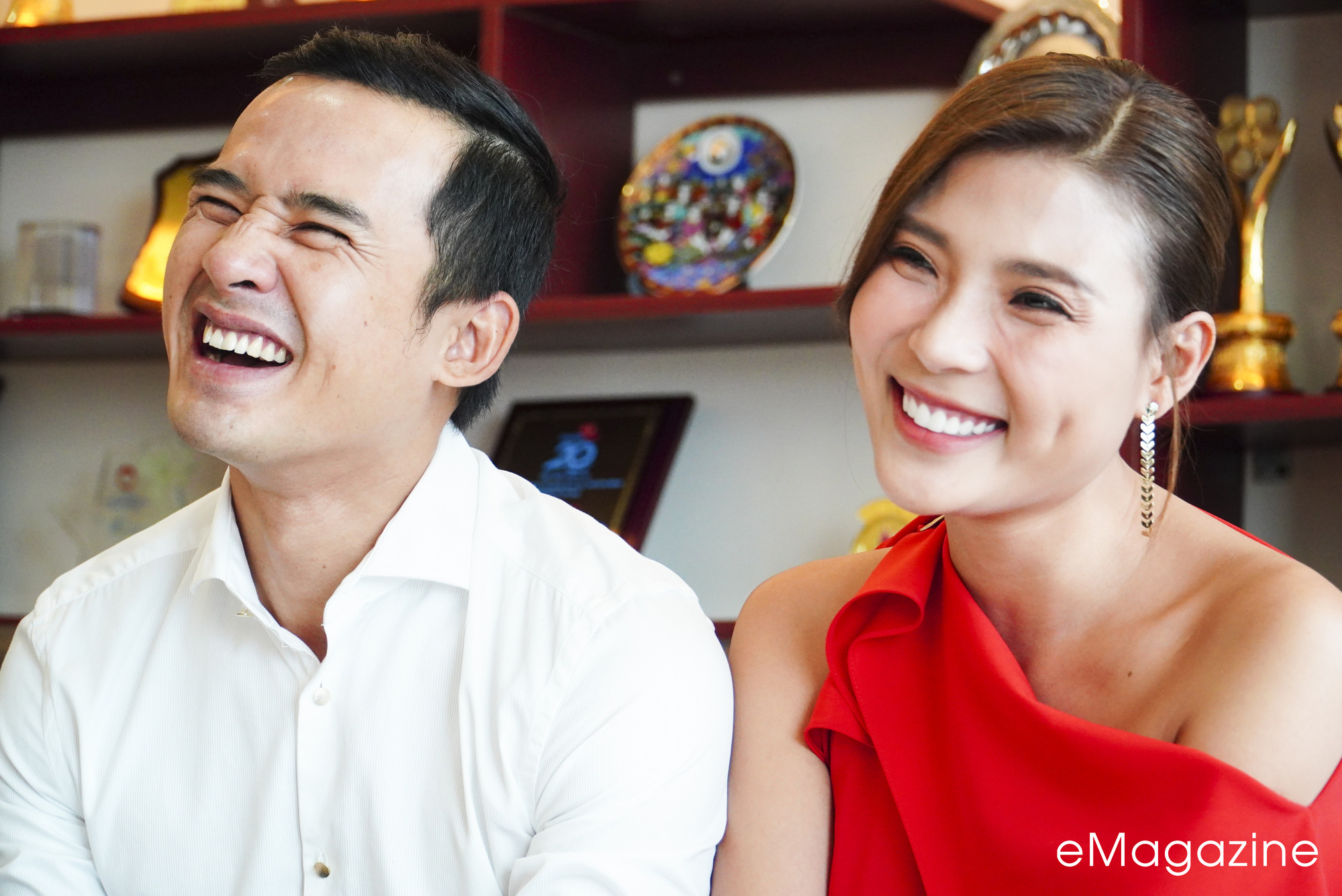 [eMagazine] Cặp đôi Lương Thế Thành - Thúy Diễm mạnh miệng...  tố nhau - Ảnh 3.