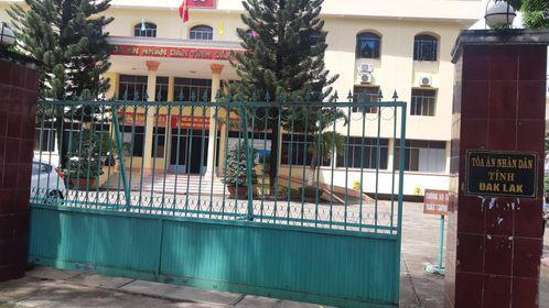 TAND Đắk Lắk báo cáo không trung thực vụ không cho báo chí ghi hình tại phiên tòa công khai - Ảnh 1.