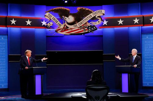 Bầu cử Mỹ: Ứng viên Joe Biden trên đà thắng thế - Ảnh 1.