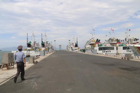 Kiểm ngư đang lai dắt 1 tàu cá Bình Định về bờ, đưa máy bay tiếp tục tìm kiếm 26 ngư dân mất tích còn lại - Ảnh 1.