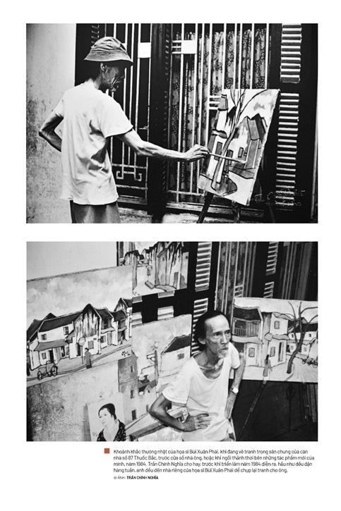 Triển lãm ảnh Bùi Xuân Phái – Trăm năm một tình yêu Hà Nội - Ảnh 2.