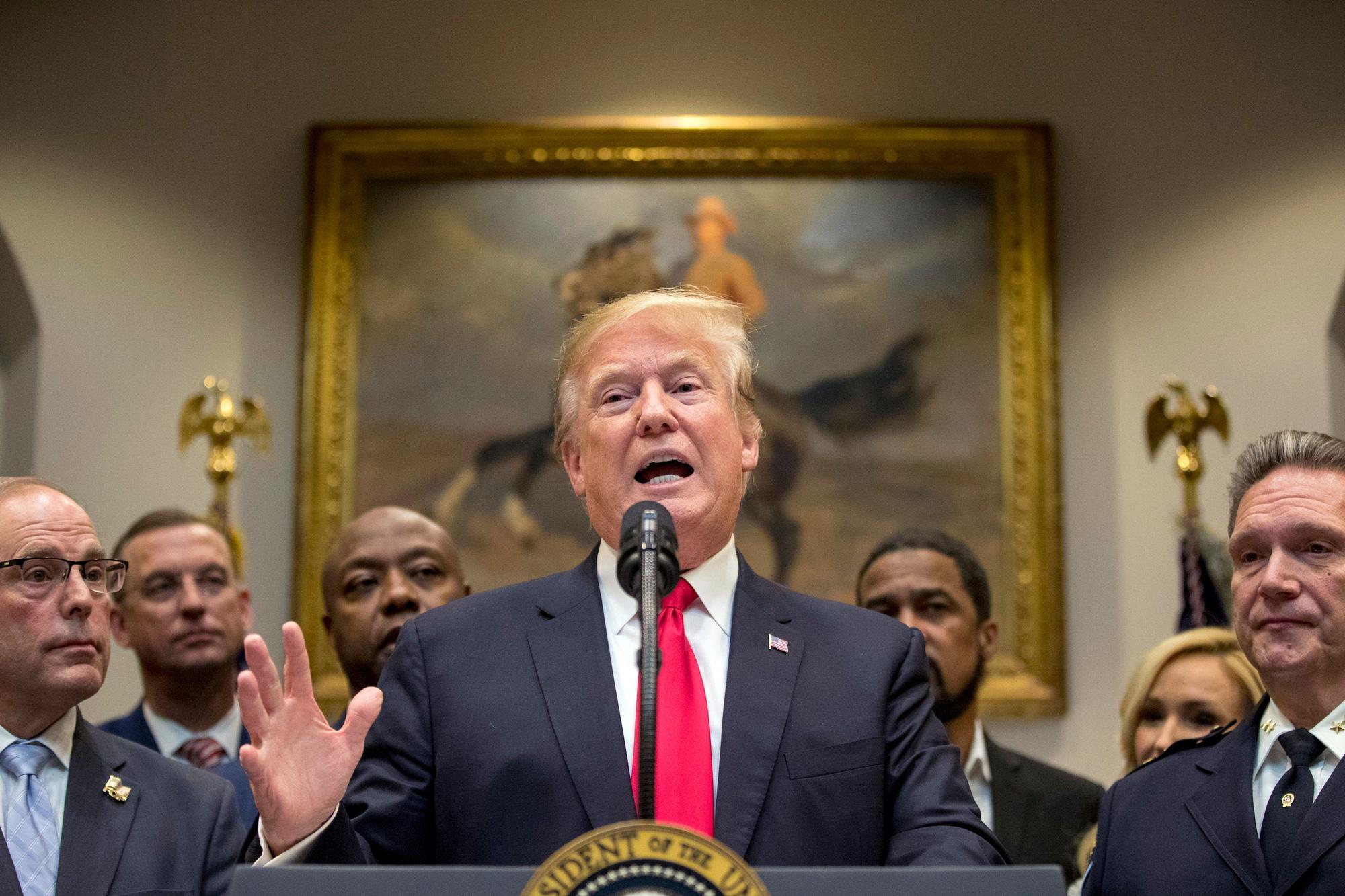 [eMagazine] Nhiệm kỳ đầu của ông Donald Trump tại Nhà Trắng: Thắng và thua - Ảnh 6.