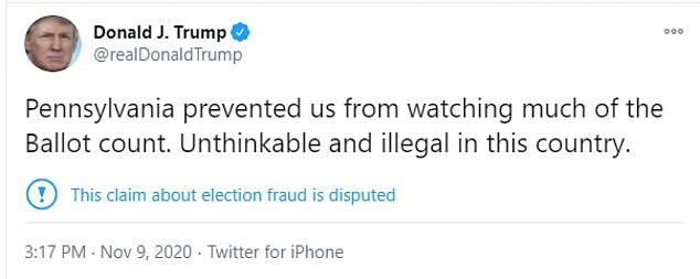 Ê-kíp Tổng thống Trump khởi kiện ở bang chiến trường Pennsylvania - Ảnh 3.