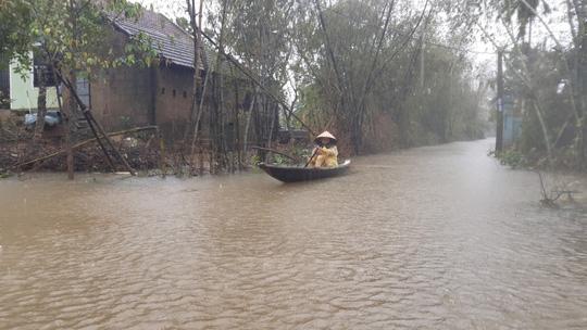 Bình Định, Thừa Thiên - Huế: Nhiều nơi ngập nặng trở lại - Ảnh 7.