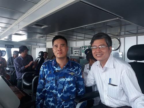 Tự hào Cảnh sát biển Việt Nam - Ảnh 1.