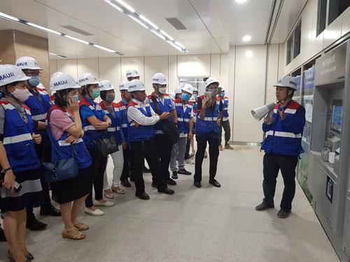 Cán bộ Công đoàn tham quan công trình trọng điểm TP HCM - Ảnh 1.