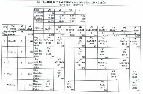 Lo lừa đảo, Cục Hàng không Việt Nam công bố chuyến bay đưa công dân về nước - Ảnh 2.