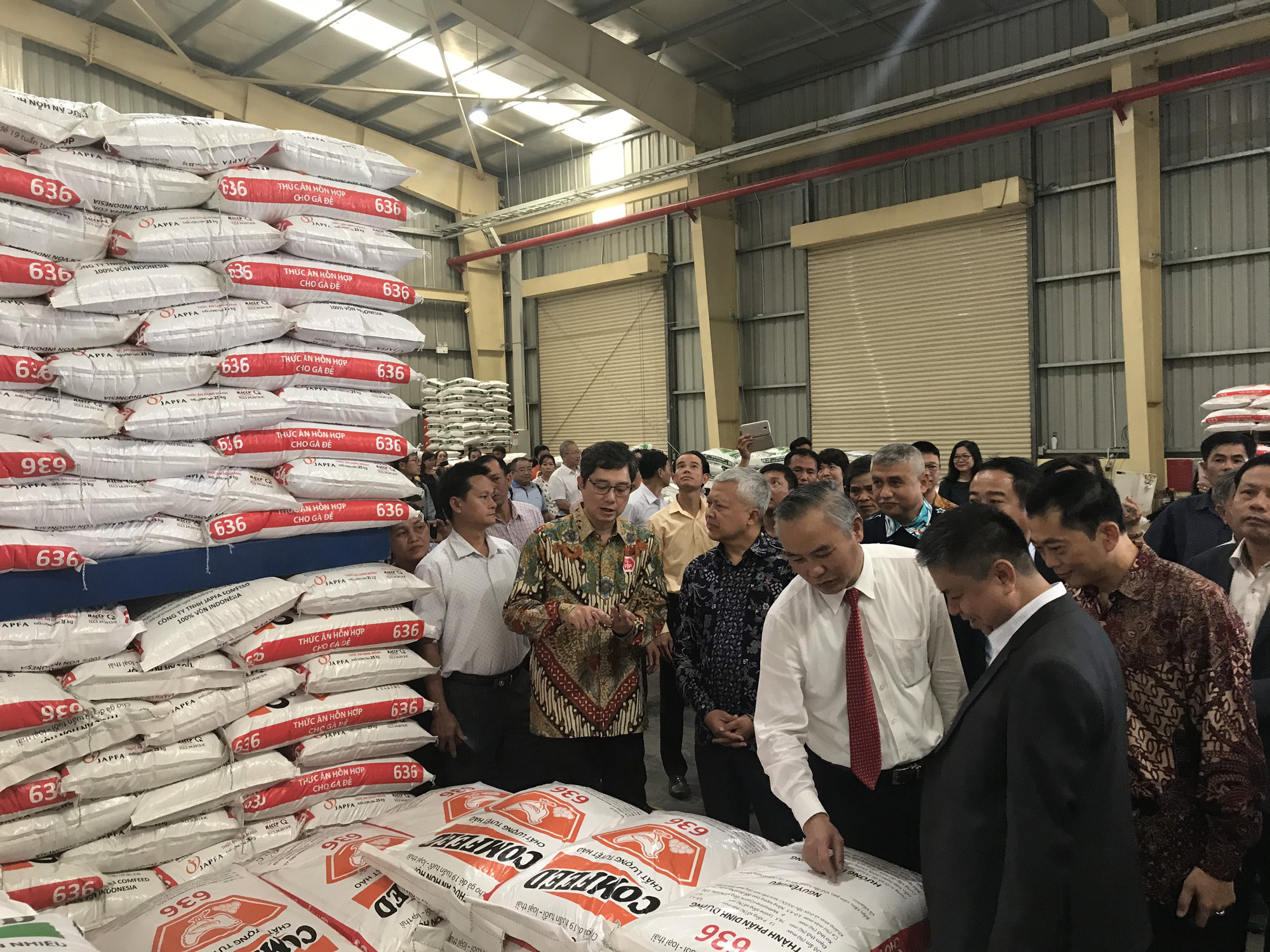 Japfa Vietnam inaugurated a 300 billion VND animal feed factory in Binh Dinh - Photo 2.