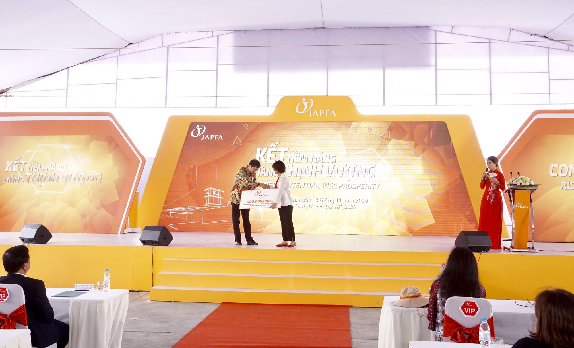 Japfa Vietnam inaugurated a 300 billion VND animal feed factory in Binh Dinh - Photo 5.