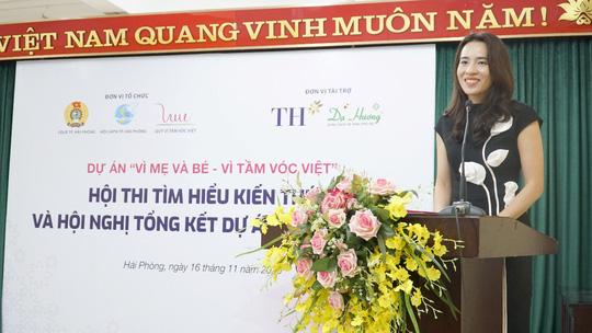"""Quỹ Vì Tầm Vóc Việt tổng kết dự án """"Vì mẹ và bé - Vì tầm vóc Việt"""" - Ảnh 3."""