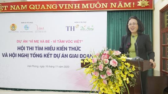 """Quỹ Vì Tầm Vóc Việt tổng kết dự án """"Vì mẹ và bé - Vì tầm vóc Việt"""" - Ảnh 4."""