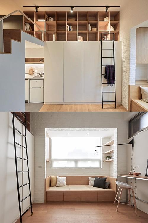 Căn hộ 22 m2 đầy đủ tiện nghi của cô gái độc thân - Ảnh 1.