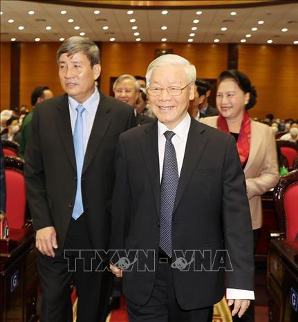 Tổng Bí thư, Chủ tịch nước chỉ đạo hội nghị kiểm tra, giám sát của Đảng - Ảnh 6.
