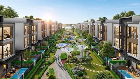 Khai trương khu phố phong cách châu Âu tại dự án đô thị sinh thái thông minh Aqua City - Ảnh 10.