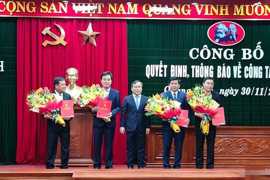 Quảng Bình và Quảng Nam điều động, bổ nhiệm nhiều lãnh đạo chủ chốt - Ảnh 3.