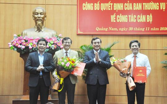 Quảng Bình và Quảng Nam điều động, bổ nhiệm nhiều lãnh đạo chủ chốt - Ảnh 1.