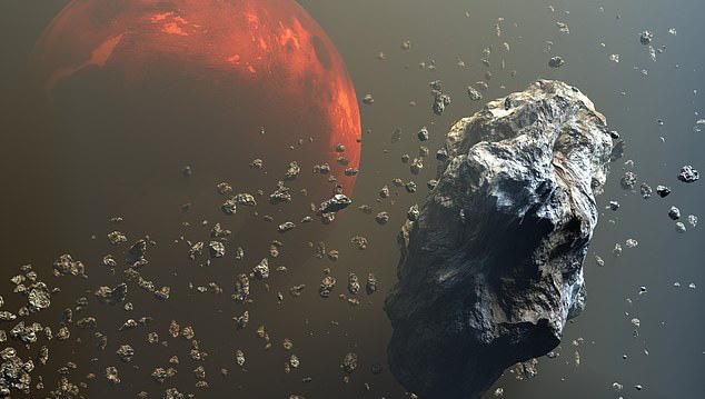 """Phát hiện """"phần cơ thể đã mất"""" của Trái Đất bay sau Sao Hỏa"""