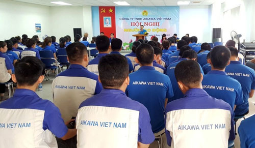 Hà Nội: Giám sát thực hiện chính sách qua hội nghị người lao động - Ảnh 1.