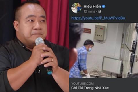 Hiếu Hiền xin lỗi vì livestream hình ảnh thi hài nghệ sĩ Chí Tài - Ảnh 2.