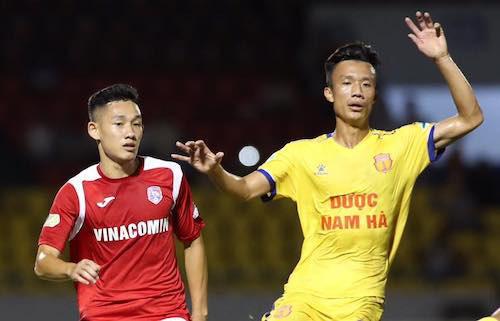 Tuyển thủ U22 lập công, U21 Nam Định ngược dòng thắng U21 Đồng Tháp - Ảnh 2.