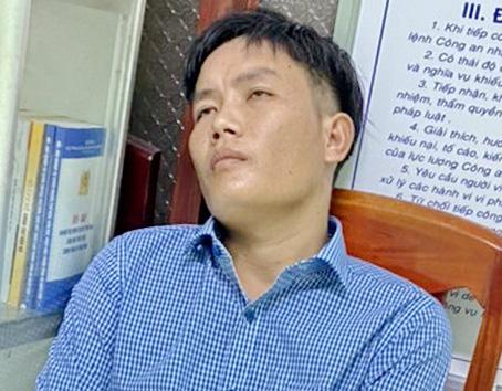"""CSGT Bình Định dùng xe tải làm """"rào chắn"""" trên Quốc lộ 1 để chặn bắt 2 kẻ trộm ôtô - Ảnh 1."""