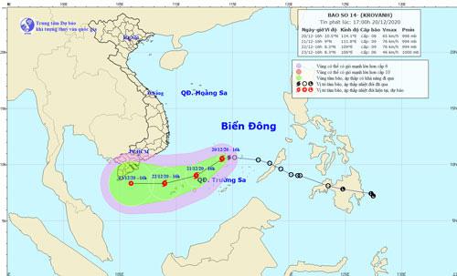 UBND TP HCM ra công văn khẩn, chỉ đạo ứng phó bão số 14 - Ảnh 1.