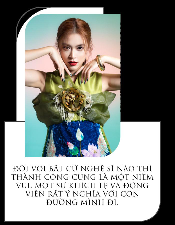 [eMagazine] Ca sĩ Hoàng Thùy Linh: Cứ dụng công thôi, không nghĩ nhiều - Ảnh 1.