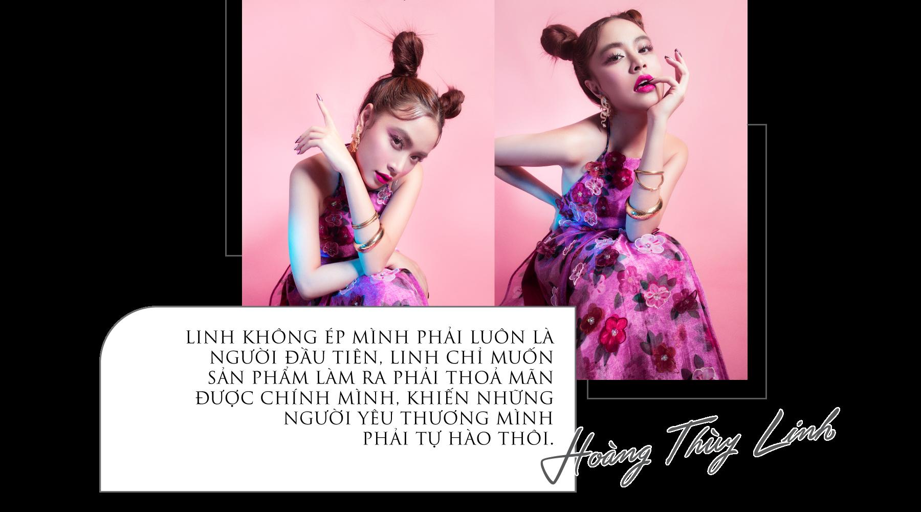 [eMagazine] Ca sĩ Hoàng Thùy Linh: Cứ dụng công thôi, không nghĩ nhiều - Ảnh 3.
