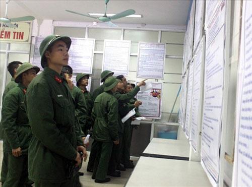 Hà Nội: Hỗ trợ hàng ngàn bộ đội xuất ngũ có việc làm ổn định - Ảnh 1.