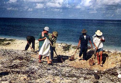 Cuộc thi viết về chủ quyền biển đảo: Dấu tích người Việt xưa ở Trường Sa - Ảnh 1.