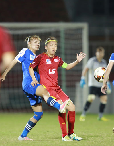Chung kết sớm bóng đá nữ Việt Nam - Ảnh 1.