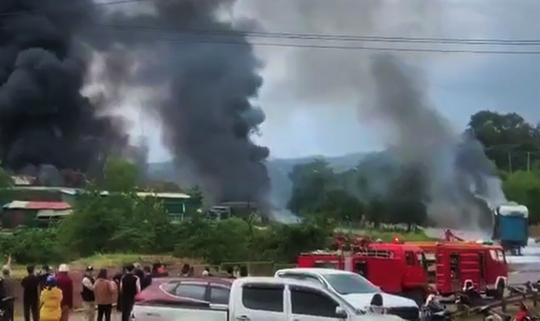 Danh tính 4 người Việt bị thương trong vụ cháy nổ kinh hoàng ở Lào - Ảnh 2.