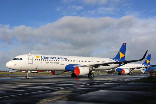 Vietravel Airlines nhận máy bay đầu tiên - Ảnh 1.