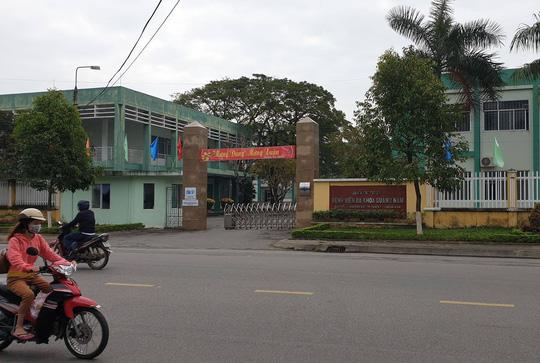 3 người từng đi qua vùng dịch Deagu đang được cách ly tại BV Đa khoa tỉnh Quảng Nam