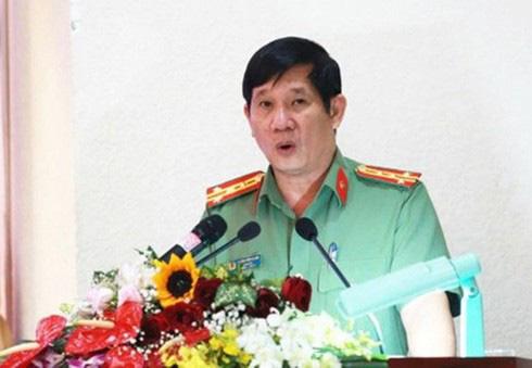 Đại tá Huỳnh Tiến Mạnh, nguyên Giám đốc Công an Đồng Nai nghỉ hưu sau án kỷ luật - Ảnh 1.