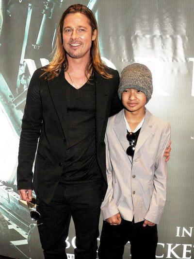 Brad Pitt nỗ lực làm lành với con trai nuôi? - Ảnh 3.