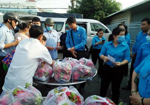 Tiền Giang: Hỗ trợ nông dân tiêu thụ trái cây do ảnh hưởng dịch nCoV - Ảnh 1.